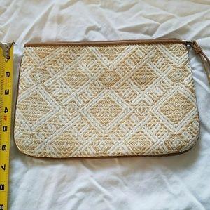 Loft clutch handbag
